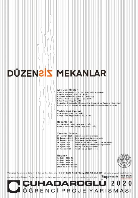 afiş_çuhadaroğlu öğrenci yarışması 2020